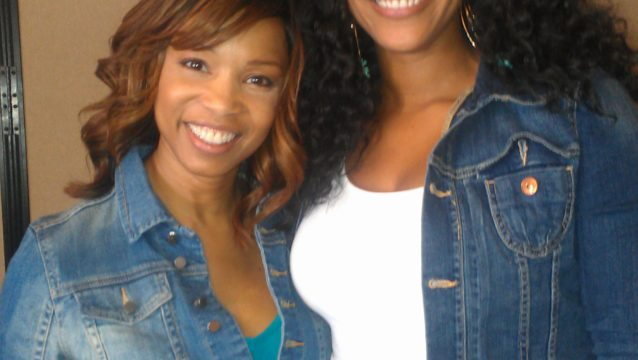 Elise Neal, my little sister