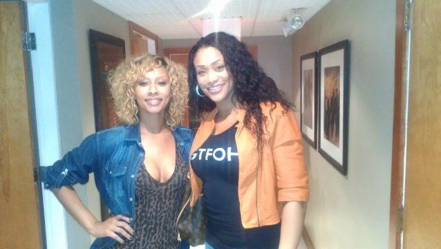 Keri Hilson at studio