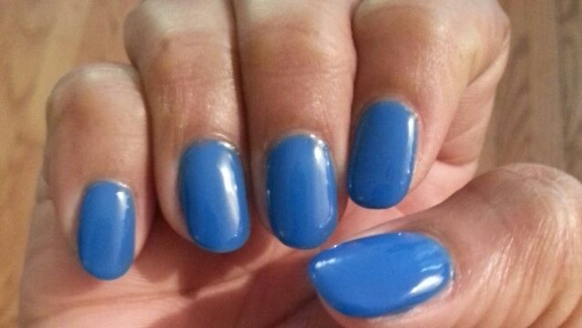 Bold Blue from LOVE Cosmetics!