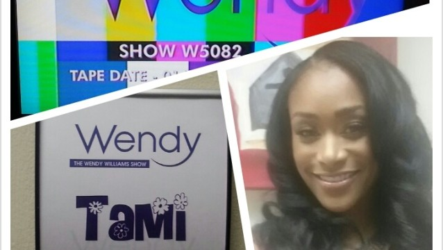Behind The Scenes at Wendy Williams!