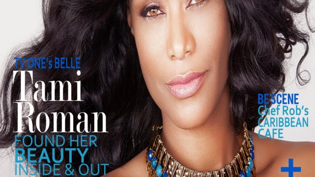 BELLE'S Star Tami Roman Covers BE Entertained Magazine